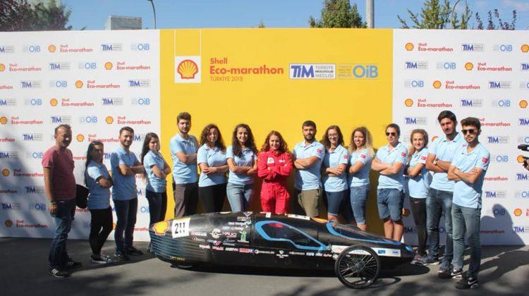 HidroAna takımı Shell Eco-marathon Türkiye yarışmasında Birinci Oldu